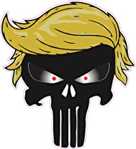 Trump Punisher Small Decal 3