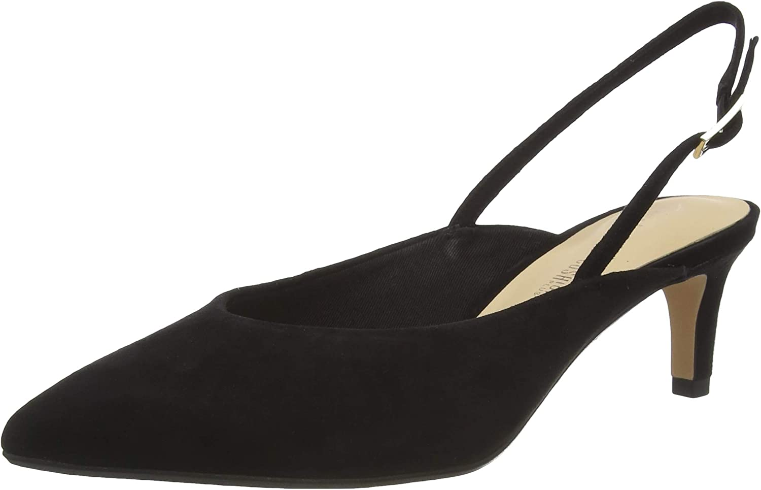 Clarks In a popularity Laina55 Sling Court Black Chicago Mall Shoes Women