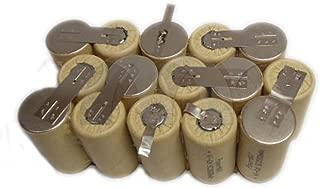 Eztronics Corp® Battery Refilling For SNAP ON 18V Volt CTB4185 CTB4187 2.0Ah Ni-CD Rattle Gun