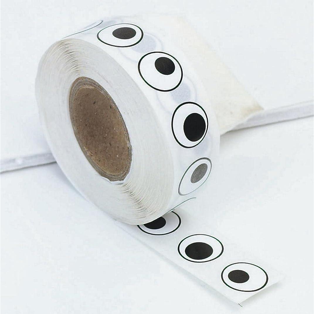 Black Eye Stickers (roll of 1000)