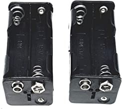 Corpco 4 x AA Battery Holder with Standard snap Connector 6V Output Type BH343 2 Pack