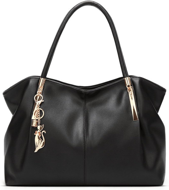 MALLTY MALLTY MALLTY Handtasche für Frauen Tote Hobo Bag Top Griff Crossbody Umhängetasche Satchel und Leder Geldbörse (Farbe   schwarz) B07JJLDWD2  Wartungsfähigkeit 21c320