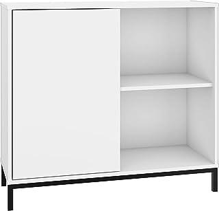 BRV Móveis Cabinet White, 90 x 80.5 x 35.5 cm, BMU 35-198