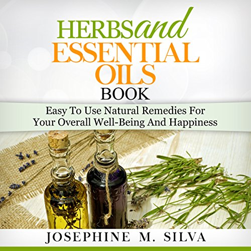Herbs and Essential Oils Book audiobook cover art