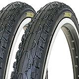 2 x Fahrradreifen Kenda 24 Zoll 24x1.75 inklusive 2 x 24' Schlauch mit Dunlopventil