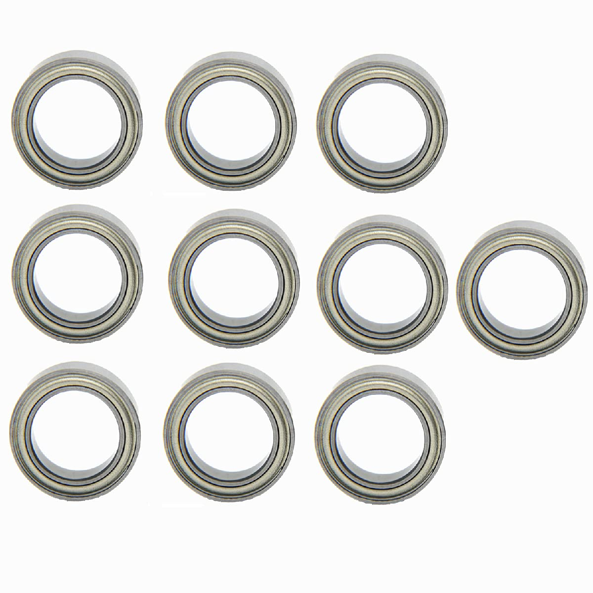 10Pcs Groove Clearance SALE! Limited time! Ball Bearings Quality inspection 6810ZZ Cover Iron Bearing Bearin