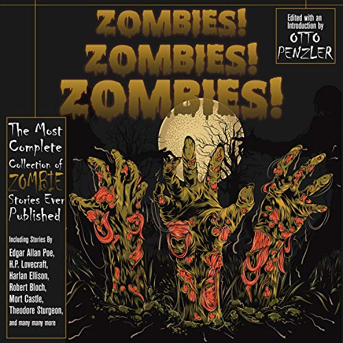 Zombies! Zombies! Zombies! audiobook cover art