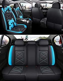 2003-2013 Neri Rosa compatibili con sedili con airbag sedili Posteriori sdoppiabili R03S0113 rmg-distribuzione Coprisedili per C3 PLURIEL Versione bracciolo Laterale