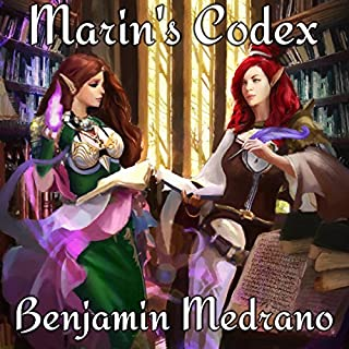 Marin's Codex     Ancient Dreams, Book 4              Written by:                                                                                                                                 Benjamin Medrano                               Narrated by:                                                                                                                                 Sarah Beth Goer                      Length: 12 hrs and 49 mins     5 ratings     Overall 5.0