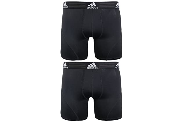 adidas Men s Sport Performance Climalite Boxer Brief Underwear (2 or 4 Pack) ec156d6dcb79