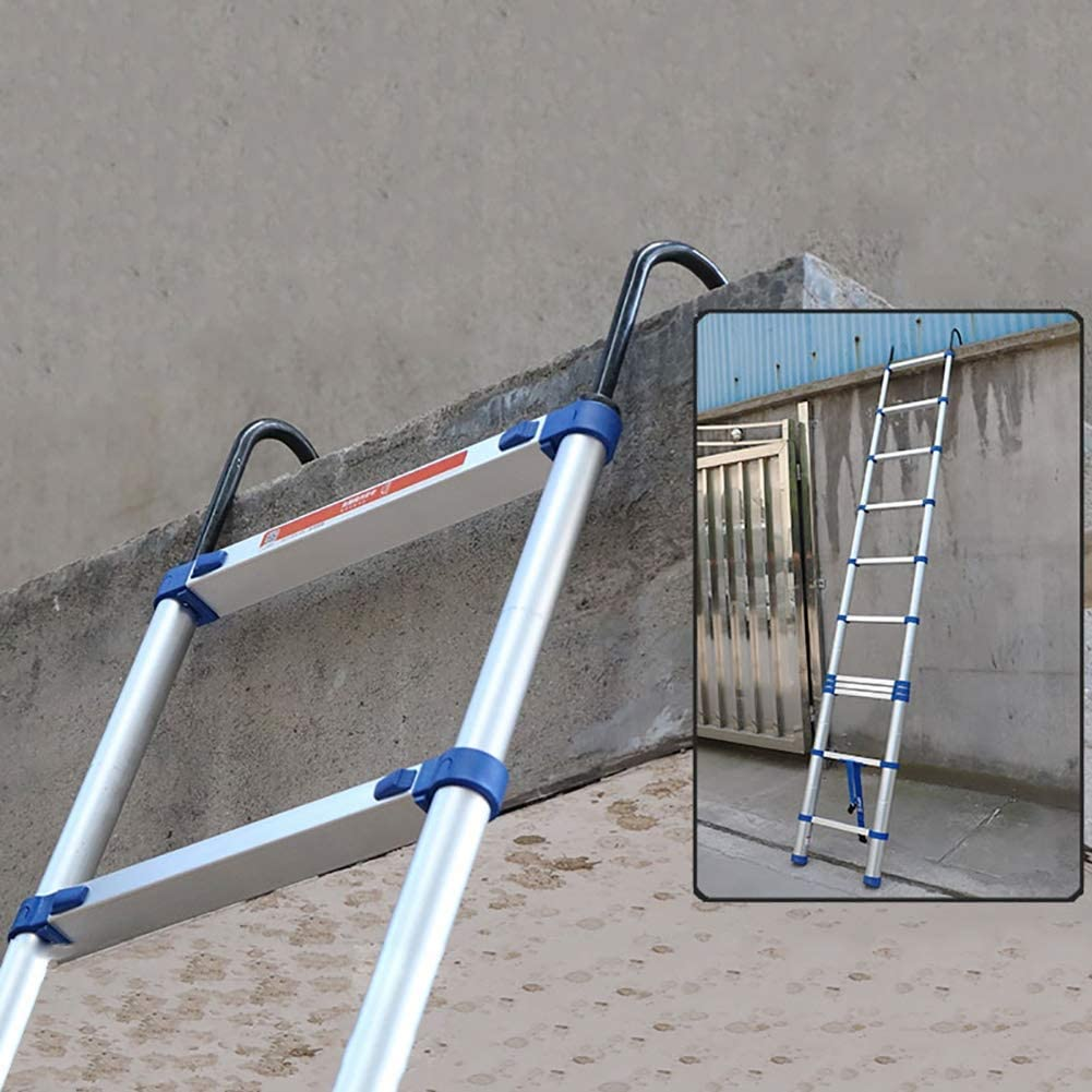 Large special price !! Extendable Aluminum Telescoping Ladder Extension Ladde Portable 70% OFF Outlet