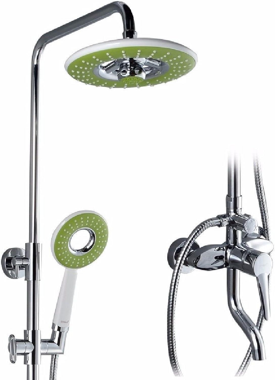 NewBorn Faucet Wasserhhne Warmes und Kaltes Wasser groe Qualitt Messing Dusche groe Dusche Sprinkler Bad Dusche Booster Lin Fung Kopf Regendusche Leitungswasser