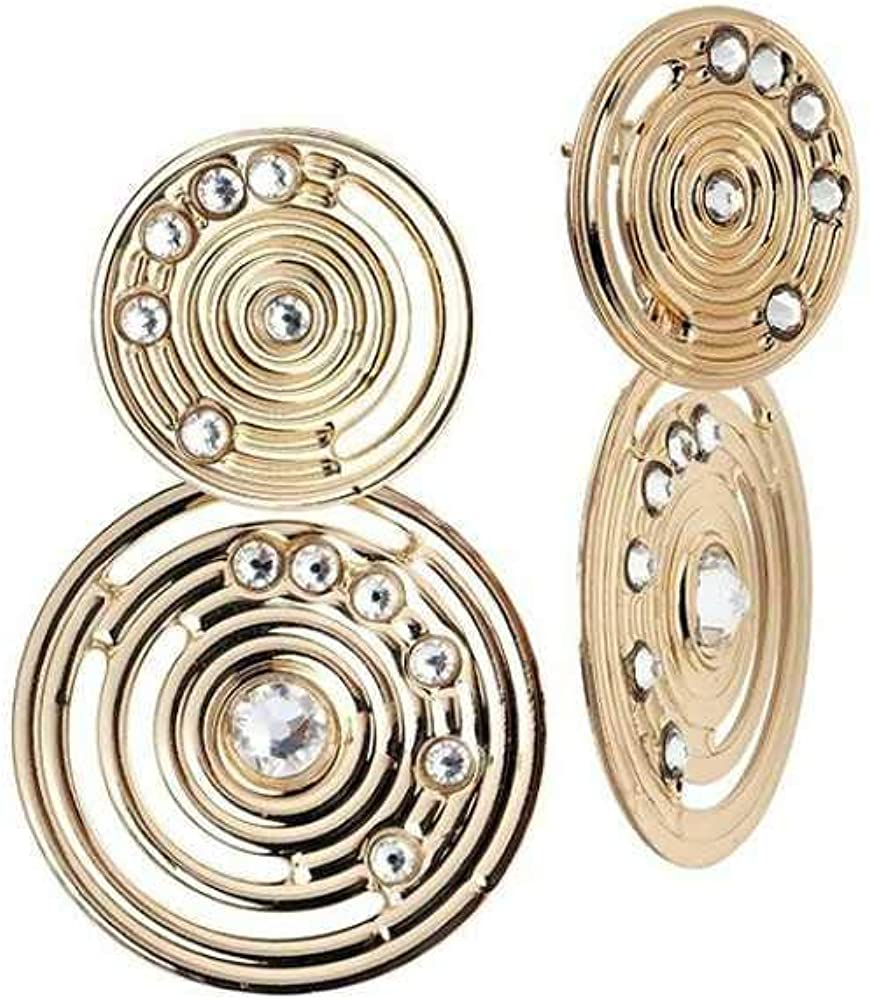 Boccadamo, orecchini per donna,in bronzo placcato oro giallo,con pendente Xor375D
