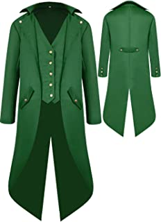 Best green frock coat Reviews