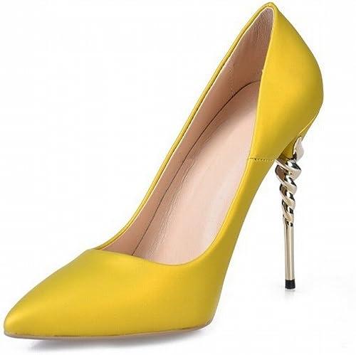 CXY CXY Chaussures de Mode Sexy Pointues Talons Hauts Chaussures Chaussures,Une,40  en ligne au meilleur prix