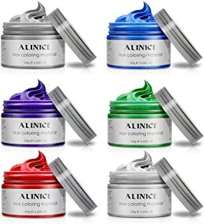 ALINICE 120g Hair Wax Men and Women Professional Hair Pomades, Long-lasting Moisturizing Modelling Hair Styling Fluffy Matte Hair Mud Gel Cream