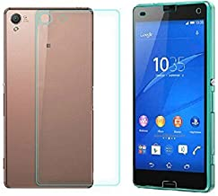 iKNOWTECH® High Quality FRONT + BACK Tempered Glass Screen Protector for Sony Xperia Z3 Compact