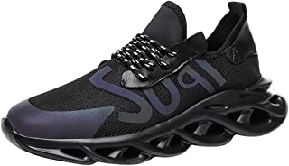 Jodier Zapatillas De Running para Hombre Aire Libre Respirable Zapatos para Correr de Deporte Unisex Adulto Zapatos del Ocio Peso Ligero Running Zapatillas Verano Calzado Sneakers Gimnasio Casual