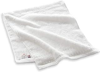 田中産業 フェイスタオル ホワイト 約34cm×80cm 今治タオル ホンキのタオル 繊 HT1801-0130-01