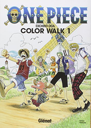 One Piece Color Walk - Tome 01