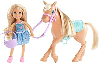 comprar comparacion Barbie Chelsea, muñeca con Pony y accesorios (Mattel DYL42) , color/modelo surtido