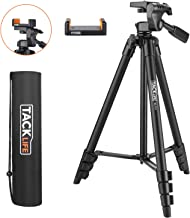 Lightweight Tripod 55-Inch, Aluminum Travel/Camera/Phone...