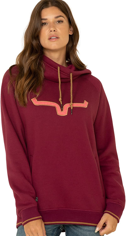 Kimes Ranch Women's Two-Scoops Logo Hoodie Sweatshirt