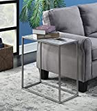 Convenience Concepts Gold Coast Faux Marble Chairside...