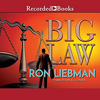 Big Law audiobook cover art