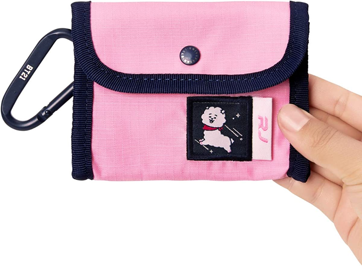 BT21 Wappen Collection Character Small Lightweight Keychain Coin Purse Wallet Pouch