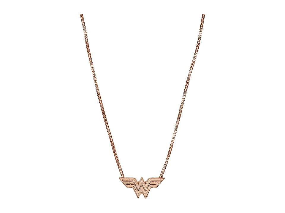 Image of Alex and Ani 21 in. Wonder Woman Adjustable Necklace (14KT Rose Gold Plated) Necklace