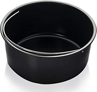 Baking Pan for Pressure Cookers, Air Fryers and Ovens- For 3 QT to 5QT Pressure Cookers and 2.75QT 3.7QT 5.3QT Air Fryers. Fits InstantPot, Ninja Foodi Gowise Philips NuWave Power Farberware and more