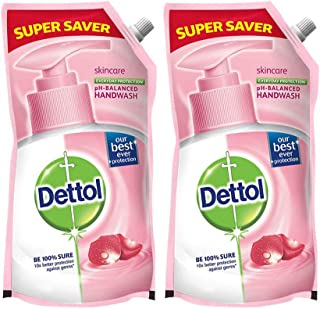 Dettol Germ Protection Handwash Refill - 750 ml (Skincare, Pack of 2)