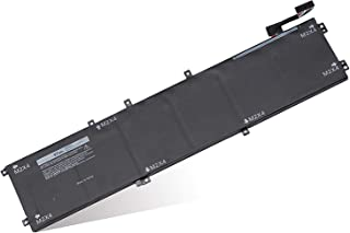 6GTPY Laptop Battery (11.4V 97Wh) for Dell XPS 15 9570 9560 9550 7590 Precision 5530 5520 5510 M5510 M5520 Series 5XJ28 5D...