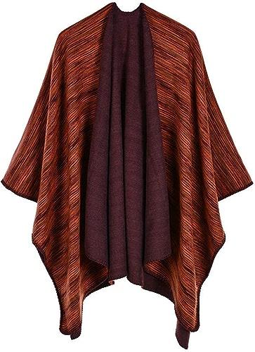 Ztweijin Ponchos Chauds épais d'écharpe de Femmes de Foulards de Marque de Luxe pour des Dames pour la Robe