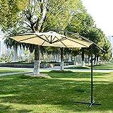 Zoom IMG-1 outsunny ombrellone decentrato parasole protezione
