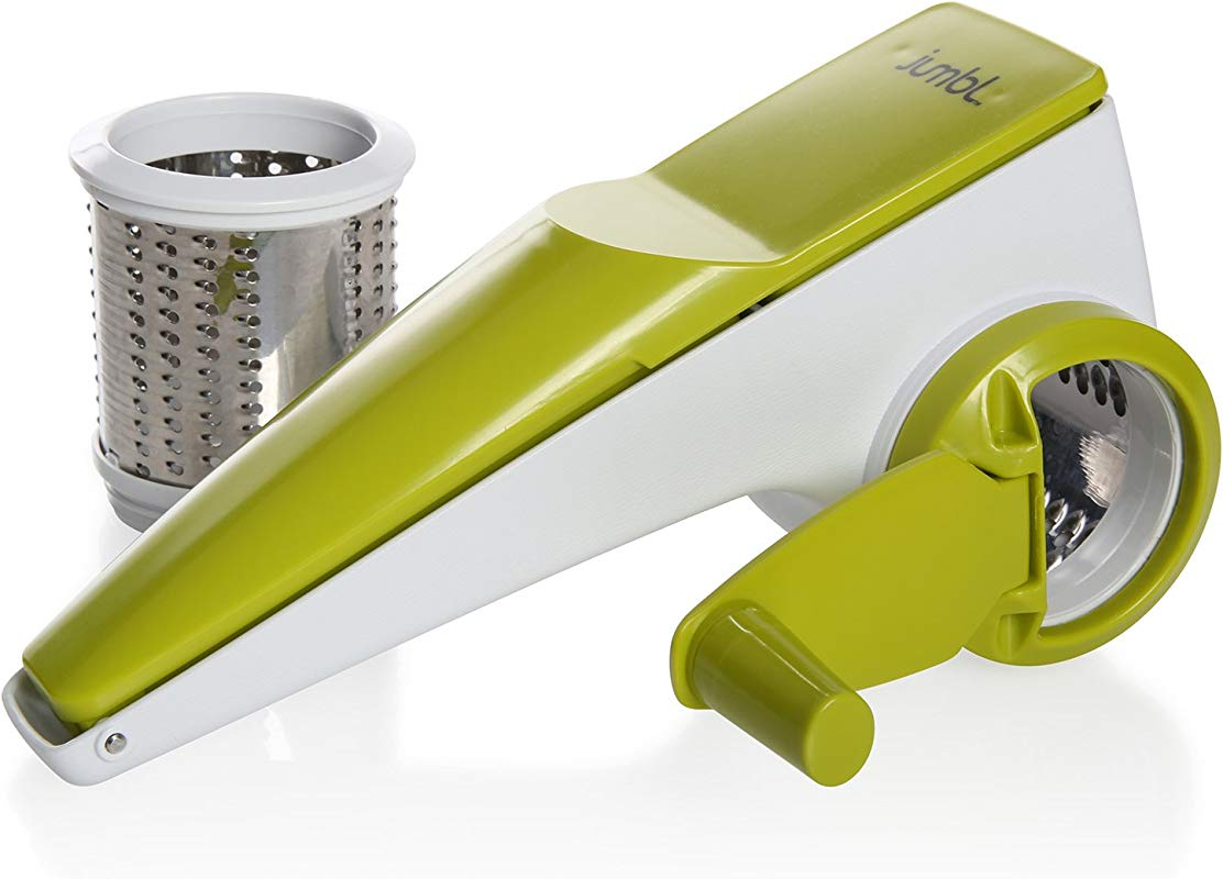 Rotary Cheese Grater Nuts Chocolate Grater With Dual Grating Cylinders