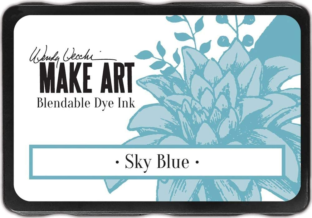 Ranger Wendy Vecchi Make Art Ink Pads-Sky Raleigh Mall Trust Blue Dye