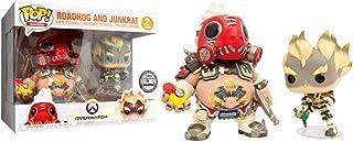SDCC 2018 Blizzard Exclusive Roadhog and Junkrat 2 Pack Funko Pop Figure