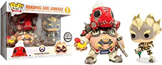 SDCC 2018 Blizzard Exclusive Roadhog and Junkrat 2 Pack Funko Pop Figure