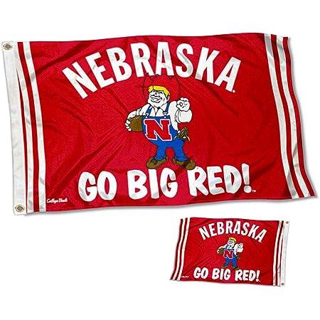 Team NCAA Nebraska Cornhuskers Unisex University of Nebraska Heritage Banner Vertical 6x24 6 x 24