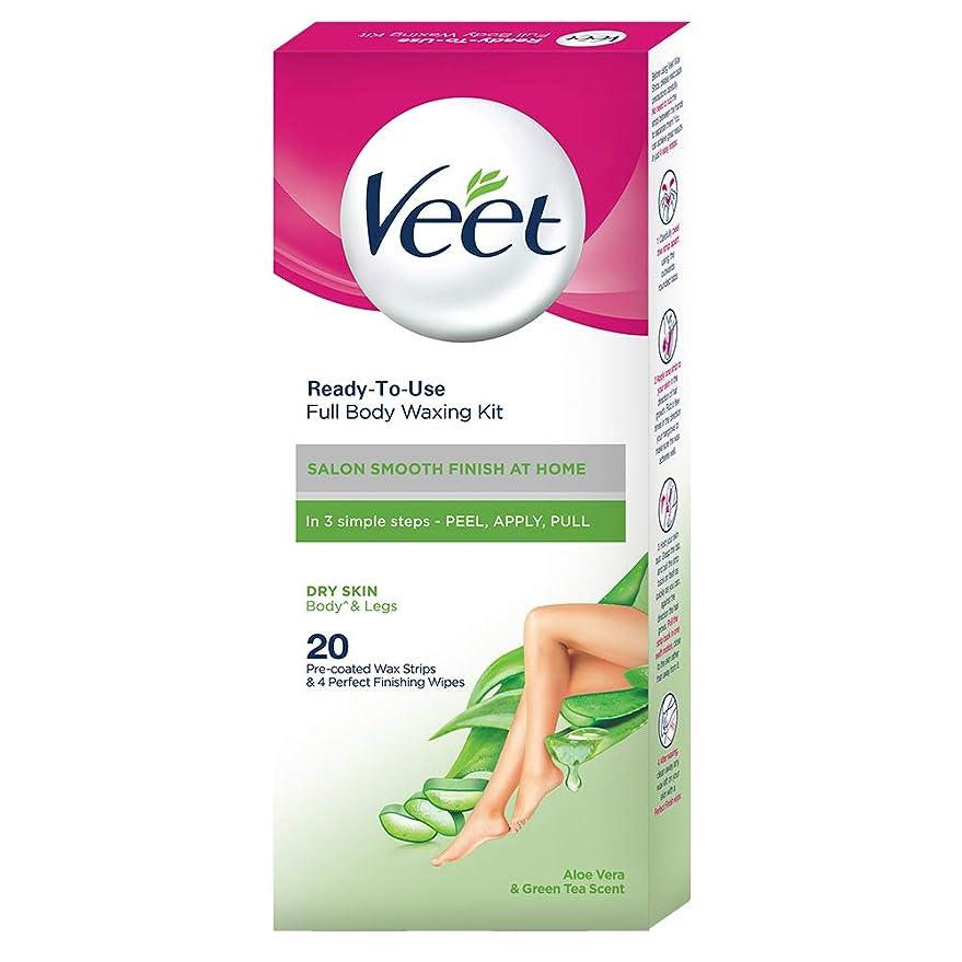 概要ピービッシュ思春期Veet Full Body Waxing Kit for Dry Skin, 20 Strips