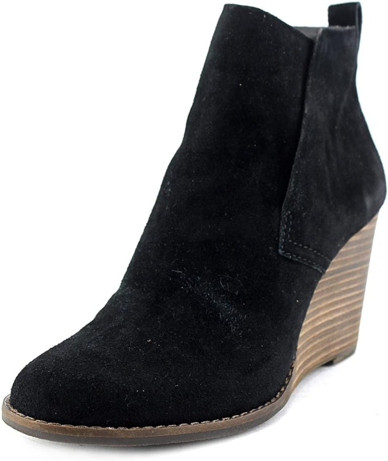 Lucky Brand Yameena Women US 11 Black Ankle Boot