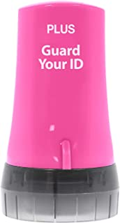 Guard Your ID Advanced Security Roller 2.0 for Identity Theft Prevention Stamping Pink
