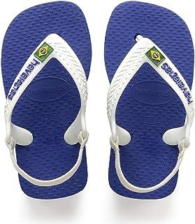 Havaianas, Sandálias New Baby Brasil Logo, Azul Naval