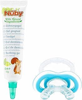 Dr. Talbot's Nuby Teething Gel + First Teething Aid Gum-eez - 15g - 4M+