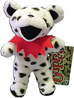 Grateful Dead Bean Bear Dupree Teddy Bear Dalmatian Print Plush