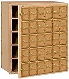 Salsbury Industries 2130FL  Americana Mailbox, 30 Doors, Front Loading, Aluminum