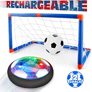 Betheaces Kids Toys Rechargeable Hover Soccer Set, Indoor...
