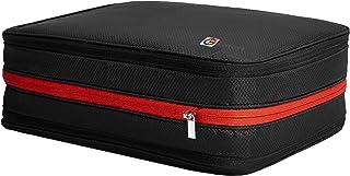 超大圧縮バッグ 26L トラベルポーチ 衣類圧縮バッグ ファスナーで簡単圧縮で衣類スペース50%節約コート&ダウンジャケット衣類を収納 軽量 出張 旅行 便利グッズ 綺麗な衣類&汚れた衣類仕分け 超大容量